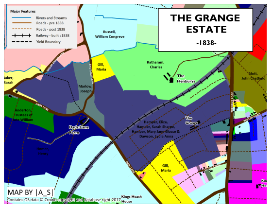 The Grange Estate 1838