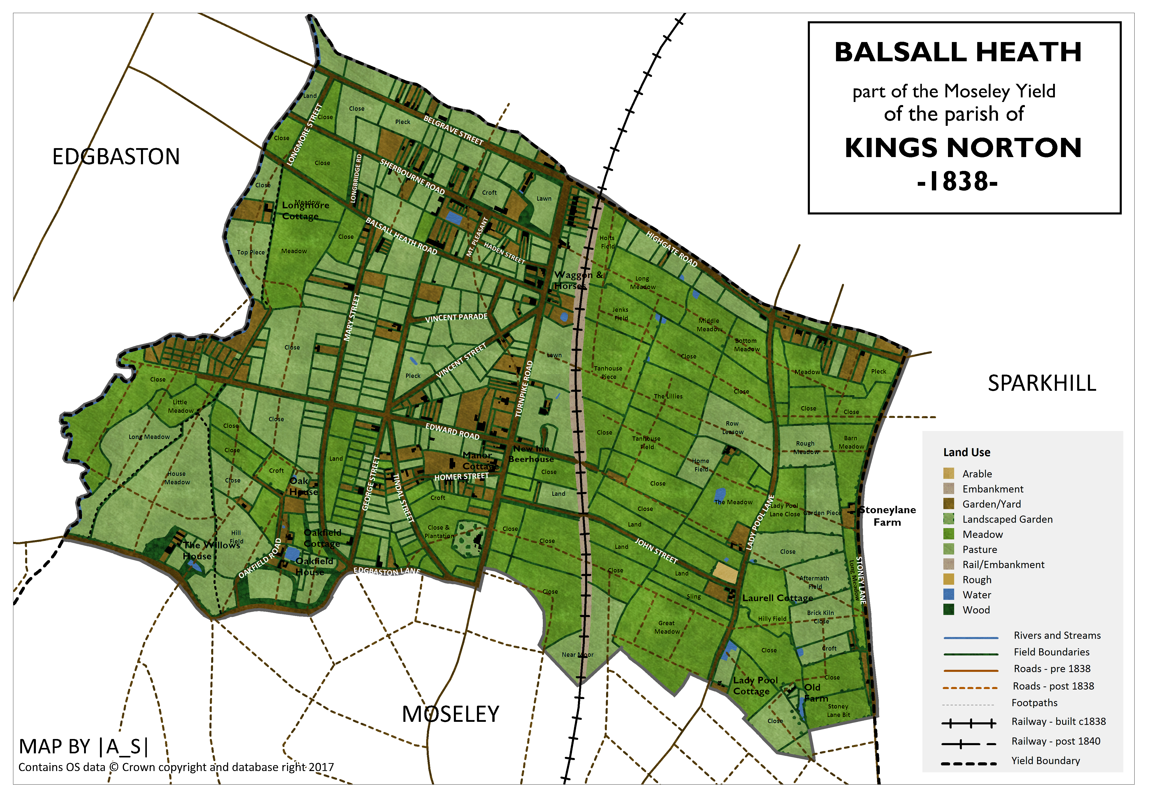 Balsall Heath 1838